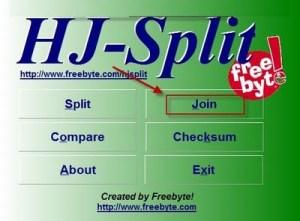 Tutorial juntar arquivo com HJ-Split