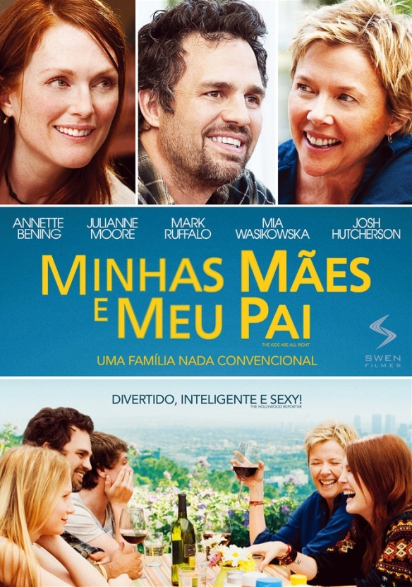 Minhas Mães e Meu Pai  (The Kids Are All Right) -POSTER 3
