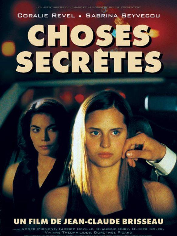 Choses Secrètes (Coisas Secretas) -POSTER 1