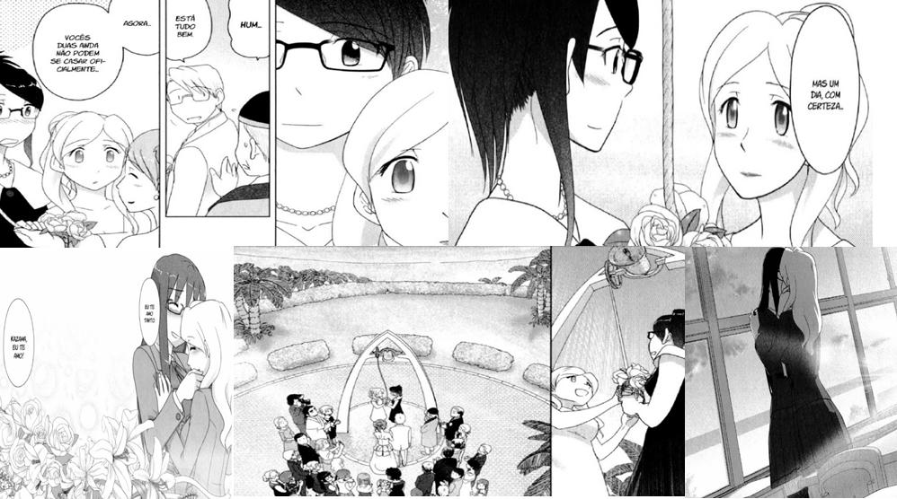 Sasameki Koto (Anime Yuri) -CAPA 4 (MANGÃ FINAL-MONTAGEN)
