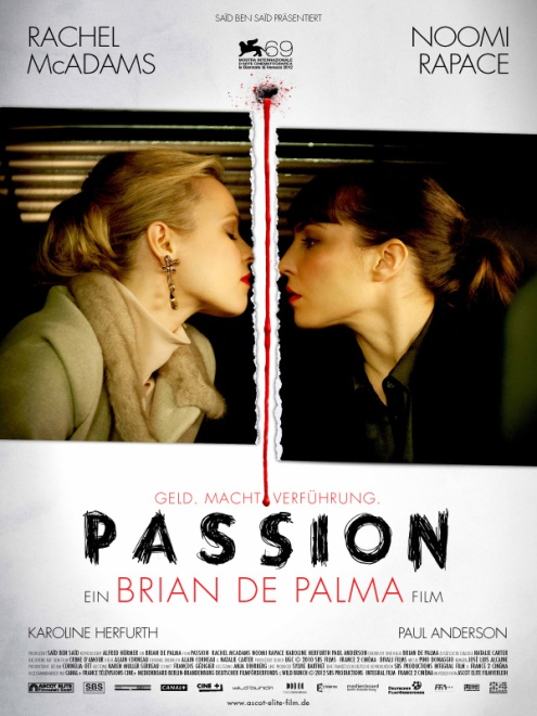 Passion (2013) - Poster 1