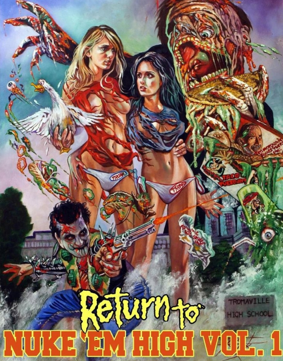 RETURN TO NUKE HIGH VOLUME 1-POSTER 1